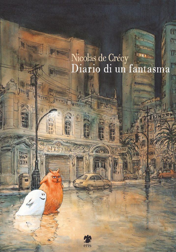 Nicolas De Crécy, Diario di un fantasma, Eris edizioni, una banda di cefali, recensione