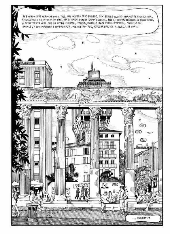 Tramezzino: un intermezzo amoroso a Milano
